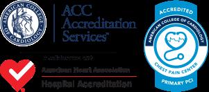 Centro de dolor torácico ACC con PCI primaria