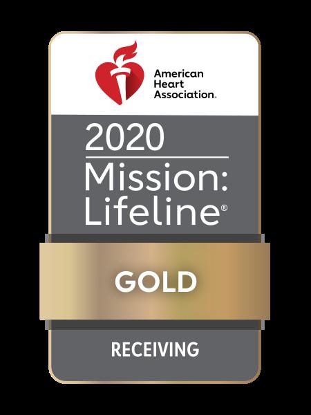 Recepción de oro de AHA Mission Lifeline