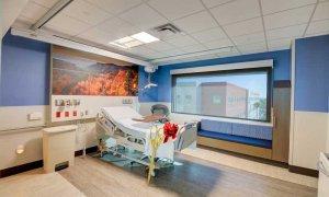 Nueva torre de pacientes - Habitación de pacientes (mayo de 2021)