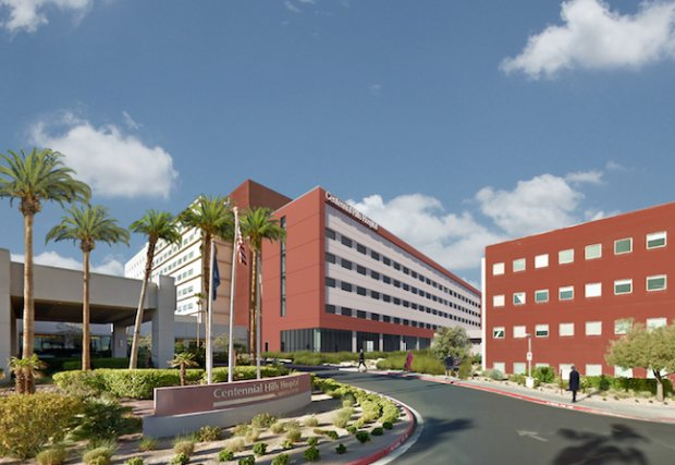 Centennial Hills Hospital Opens Expanded Patient Care Areas